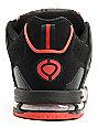 Circa Shifter Black & Red Skate Shoes