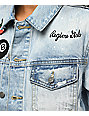 Civil Splatter Patches Denim Jacket