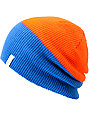 Coal Duo Orange & Blue Beanie