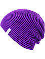 Coal Frena Purple Knit Beanie