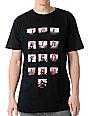Comune Black Refero Black T-Shirt