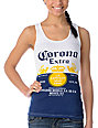 Corona Swim Bottle Label Tank Top