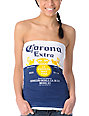 Corona Swim Bottle Label White Tube Top