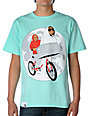 Counter Balance Phone Home Teal T-Shirt