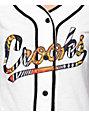 Crooks & Castles Cabana White Baseball Jersey