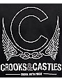 Crooks & Castles Crookin Black Hockey Jersey