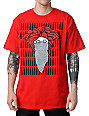 Crooks and Castles Crackle Bandito Red T-Shirt