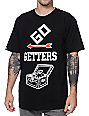Crooks and Castles Go Getters Black T-Shirt