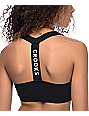 Crooks and Castles Palace Black Bralette