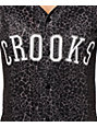 Crooks and Castles Smoke Baseball Jersey