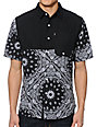 Crooks and Castles Squad Life Button Up Shirt