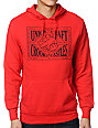 Crooks and Castles Union Airgun Red Pullover Hoodie