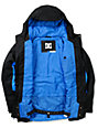 DC Boys Amo K Black & Blue 5K Snowboarding Jacket 2013