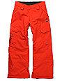 DC Boys Banshee Red Snowboard Pants