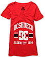 DC Dyrdek Alumni V-Neck Red T-Shirt