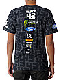 DC Ken Block 43 Monster Energy Charcoal T-Shirt