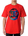DC Shoes Index Red T-Shirt