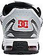 DC Versaflex White, Black & Athletic Red Shoes