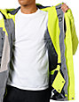 DC Wishbone Lime & Grey 15K Snowboard Jacket