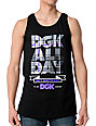 DGK All Day Black Tank Top