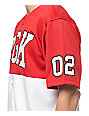 DGK Bullpen Red & White Baseball Jersey