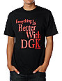 DGK Everything Black T-Shirt