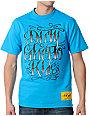 DGK Gangsta Script Turquoise T-Shirt
