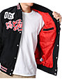 DGK Go Getters Black Varsity Jacket