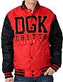DGK Head Of The Class Red Varsity Jacket