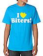 DGK I Love Biters Turquoise T-Shirt