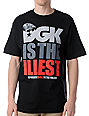 DGK Illest Black T-Shirt