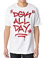 DGK Marked Up White T-Shirt