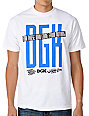 DGK Mega White T-Shirt