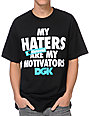 DGK Motivators Black T-Shirt