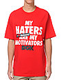 DGK Motivators Red T-Shirt