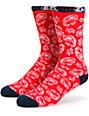 DGK OG Paisley Crew Socks