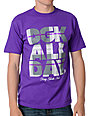 DGK Plaid All Day 2 Purple T-Shirt