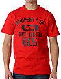 DGK Property of DGK Red T-Shirt