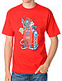 DGK Skate Rat Red T-Shirt