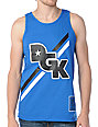 DGK Stagger Blue Tank Top