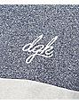 DGK Tri Custom Navy & Grey Knit T-Shirt