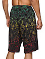 DGK Unfollow Rasta 22 Board Shorts