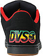 DVS Charge Black & Rasta Nubuck Shoes