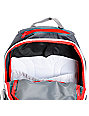 Dakine Atlas Domain Red & Grey Skate Backpack