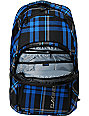 Dakine Campus Blue Plaid Laptop Backpack
