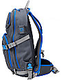 Dakine Heli Pro Grey & Blue Stencil Snow Backpack