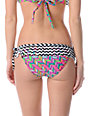 Damsel Cleopatra Neon Fringe Tie Side Bikini Bottom