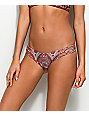 Damsel Henna Lace Rust Super Cheeky Bikini Bottom