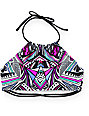 Damsel Hong Kong Tribal High Neck Bikini Top