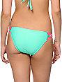 Damsel Mint Macrame Tab Side Bikini Bottom